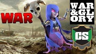 CHAMPIONS!  Cold September vs WAR & GLORY | CWL Invite LIVE STREAM | Clash of Clans