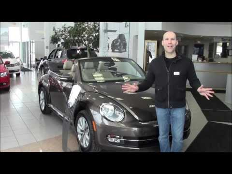 2014 VW Beetle Convertible at Volkswagen Waterloo with Robert Vagacs