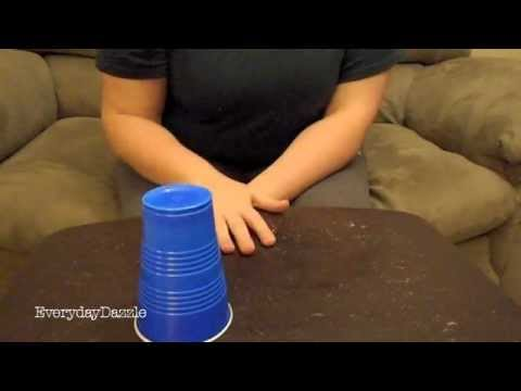 How To Do The Cup Song From Pitch Perfect