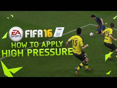 FIFA 16 - How to Apply High Pressure / Best Defending Technique Tutorial / H2H & FUT TIPS