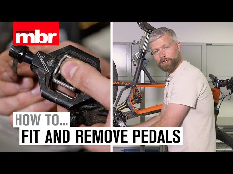 How to fit and remove pedals | Mountain Bike Rider