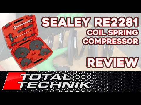 Sealey RE2281 Coil Spring Compressor - Overview and Review!