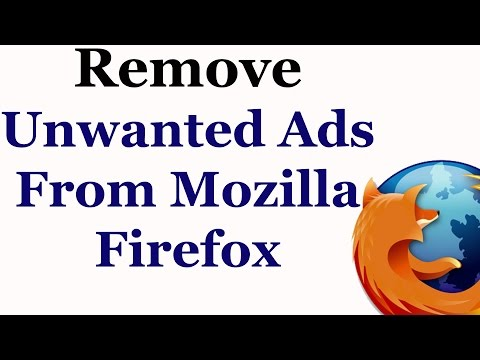 How To Remove Unwanted Ads From The Firefox Web Browser