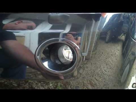 How to change a Fog Light on the Land Rover Freelander 2/LR2