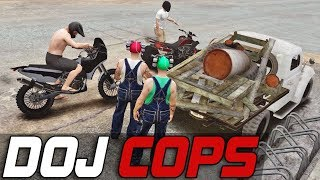 Dept. of Justice Cops #419 - Angry Moonshine Rednecks