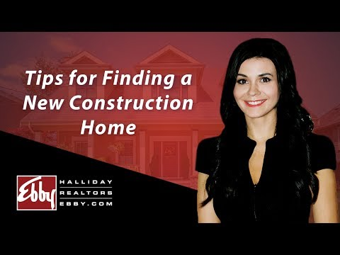 Northern Texas Real Estate Agent: Tips for finding a new construction home