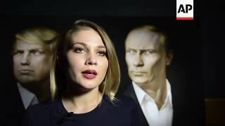 Russians celebrate Trump victory