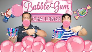 BUBBLE GUM CHALLENGE | Chewing Gum Challenge | Brother Vs Brother | Viwa Brothers
