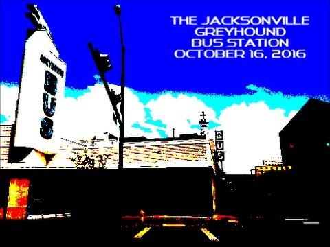 The Jacksonville , Florida Greyhound Bus Station on October 16, 2016