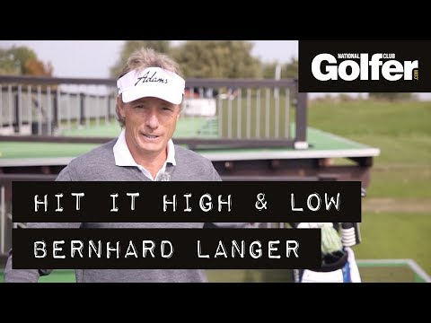 How to play a high & low ball with Bernhard Langer