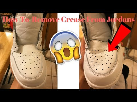 How To Remove Creases On Shoes (Steamer Method)