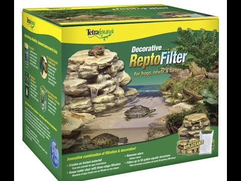 How to set up your Decorative Repto Filter