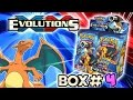 Turbo Opening: XY Evolutions booster box #4 - All 36 packs! Pokemon TCG unboxing
