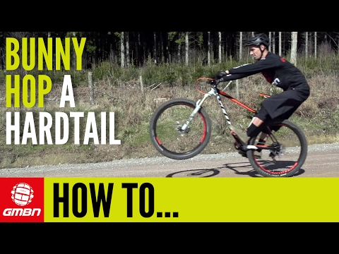 How To Bunny Hop A Hardtail Mountain Bike | Essential MTB Skills