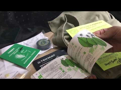 Apocabox bushcraft and survival gear box review: forager box