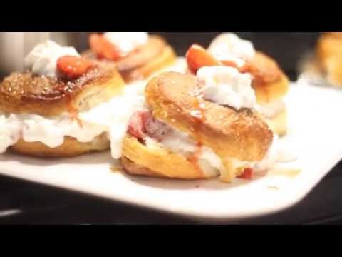 How to make Strawberry Shortcake with Pillsbury Biscuits
