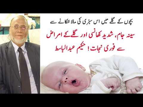 Bachon Ki Khansi Ka Ilaj
