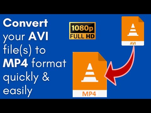 How to Convert AVI to MP4 (PC & Mac users only)- This software has 141,139 Facebook Likes!