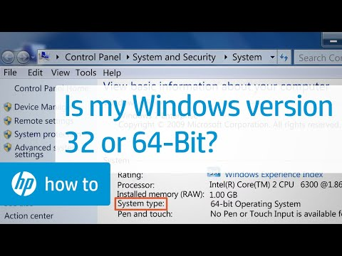 Is My Version of Windows 32 or 64-bit?