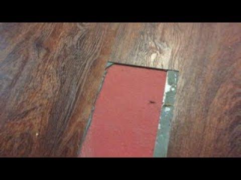 Repairing or Patching an Allure Vinyl Plank Floor