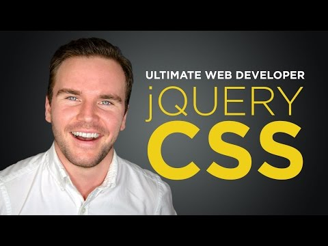 jQuery CSS [#10] Ultimate Web Developer Course (Free Tutorial)