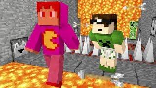 Minecraft: CORRA O MAIS RÁPIDO QUE PUDER! 😱