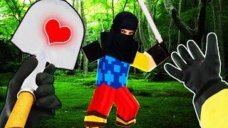 Realistic Minecraft - HELLO NEIGHBOR VS REAL LIFE NINJA!