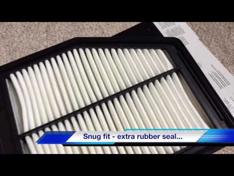 HONDA TOYOTA OEM VS WIX Air Filter Review  | Quality | Detailed Review