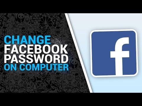 Change Facebook Password On COMPUTER On Windows 7,8,10 (2017/2018)