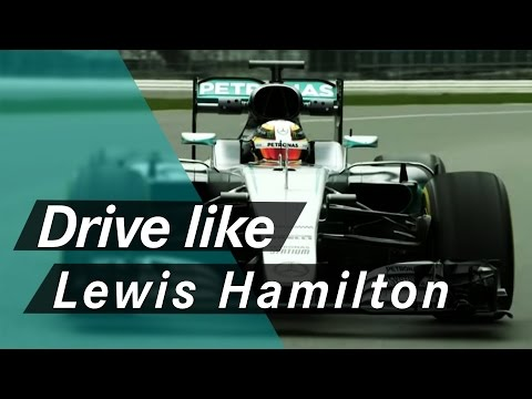 How to drive like an F1 World Champion - Lewis Hamilton