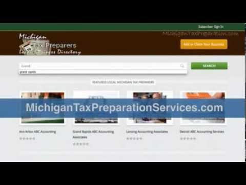 Grand Rapids MI Tax Services 2014 2013 Federal tax forms