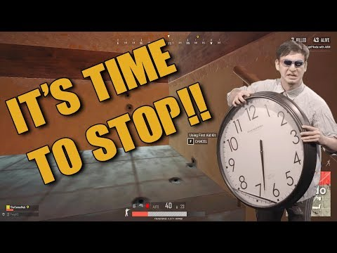 IT'S TIME TO STOP : PUBG CLIPS !