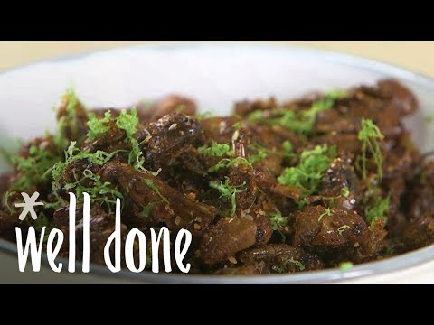 How To Make Fried Grasshopper With Chili And Lime | Edible Insect Snack | Recipe | Well Done