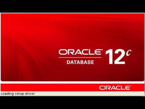 How to install and configure Oracle 12c Release 1 in Windows 8 64 bit.