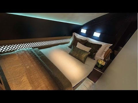 A380 Etihad Airways Residence Suites - Unravel Travel TV