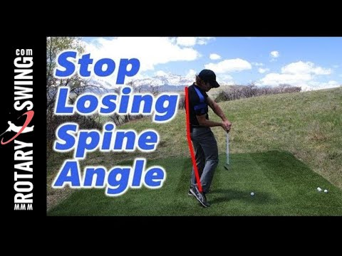 How to STOP Losing SPINE ANGLE in Downswing