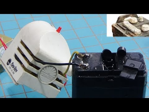 Restore batteries, how do you revive a dead battery. Make 5