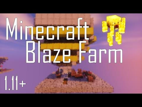 Minecraft Tutorial: Observer Block Blaze Farm - Works In 1.11+