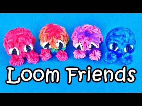 Rainbow Loom Charms: 3D Fuzzies /