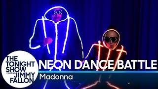Download Neon Dance Battle with Madonna Video
