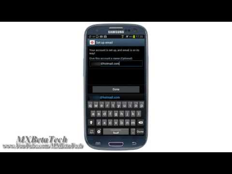 Samsung Galaxy S3 : How To Set Up Social Account