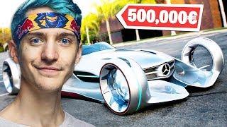 Die 5 Teuersten Autos Von Fortnite Youtubern! (standart Skill, Icrimax, Ninja)