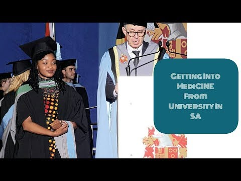 Getting Into Medical School from University In South Africa | Nosipho Mhlanga