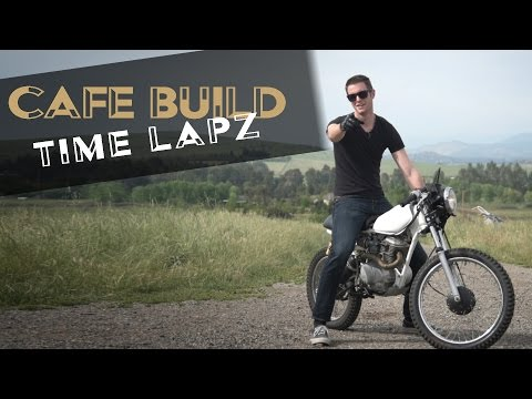 Cafe Racer Build Start to Finish Time Lapse