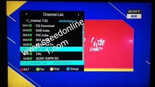 1506t SGF1 V9 01 12 Good new Intelsat 68e sony network is