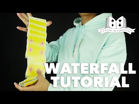 Cardistry for Beginners: Aerials & Drops - Waterfall