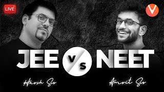 JEE vs NEET 🔥 | by Harsh Sir & Amrit Sir | Which One to Choose JEE or NEET? | Vedantu Class 9 and 10