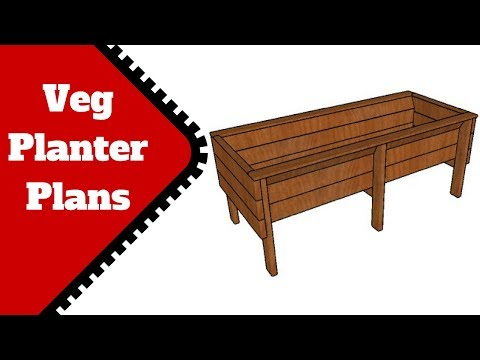 Off the ground planter plans free