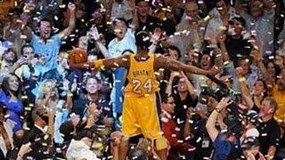 Kobe Bryant's Top 10 Plays of his Career