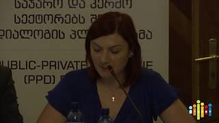 ''წყლის რესურსების მართვის შესახებ საქართველოს კანონპროექტი: შესაძლებლობები და გამოწვევები''